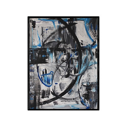 Electric Fields Modern Abstract Art