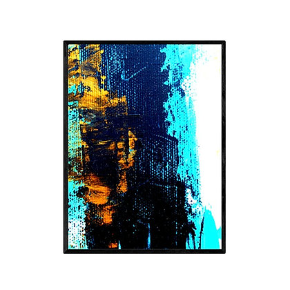 The Reef Abstract Art Print and Canvas