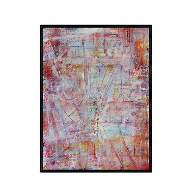 Abstract Art Print Summer Time