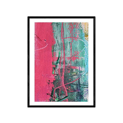 Azelea Abstract Print