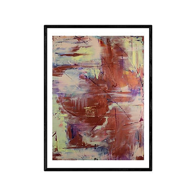 Haze Abstract Art Print