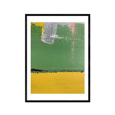 Fields of Japan Abstract Print