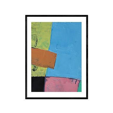 The Pool Modern Abstract Art Print