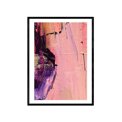 Amethyst Abstract Art Print