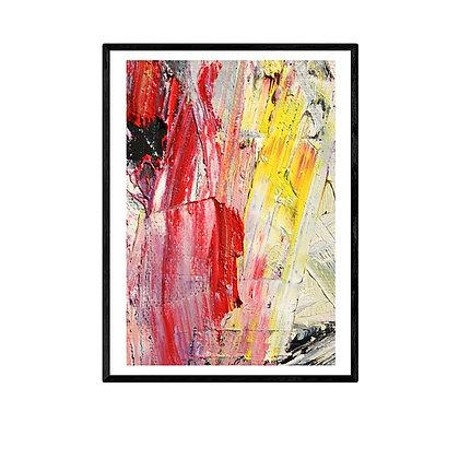 Crystal Abstract Print