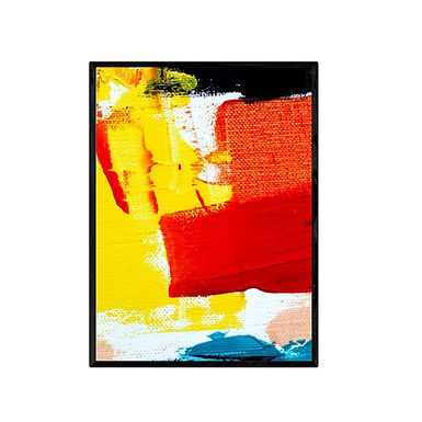 Colours Abstract Art Print