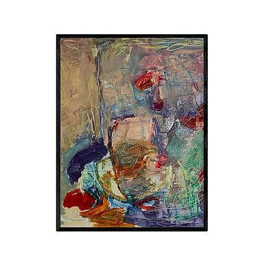 Hide and Seek Modern Abstract Art Print