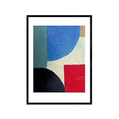 Shapes Abstract Print