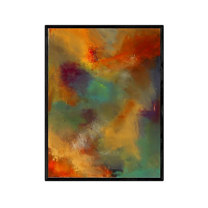 Northern Lights Abstract Print