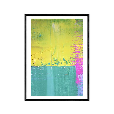 The Cliff Modern Abstract Art