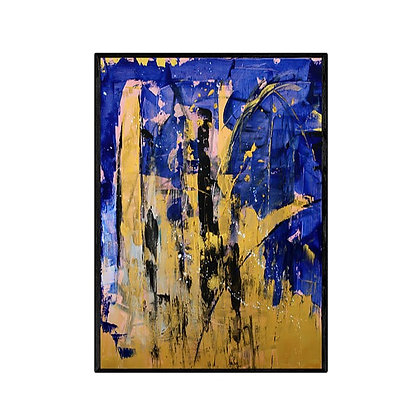 Stardust Abstract Art Print