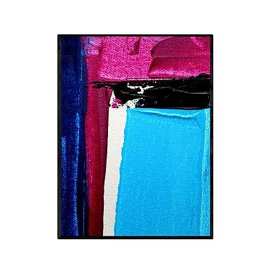 Squares Abstract Art Print