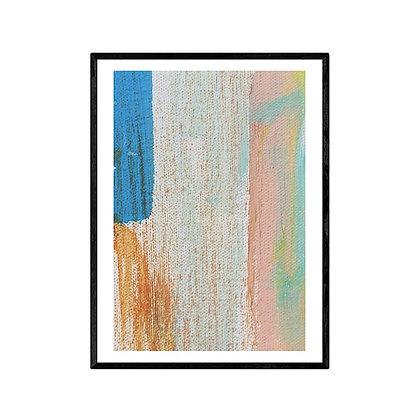 Sugar Pastels Art Print