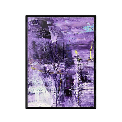 Purple Beauty Abstract Print