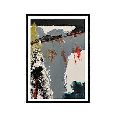 The Pier Modern Abstract Art Print