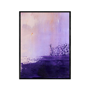 Purple Sky Wall Art Print