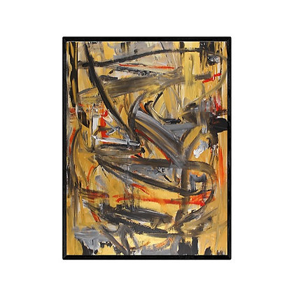 Obi Abstract Wall Art Print