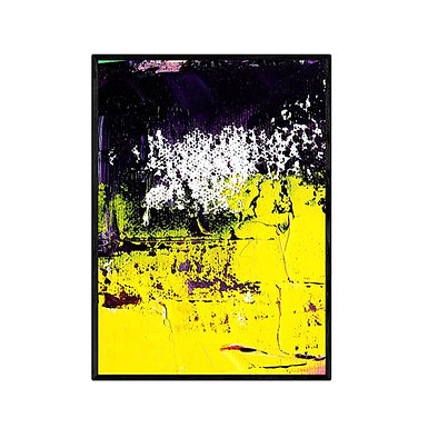 Hollow Abstract Print