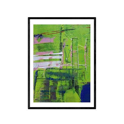Masts Abstract Print