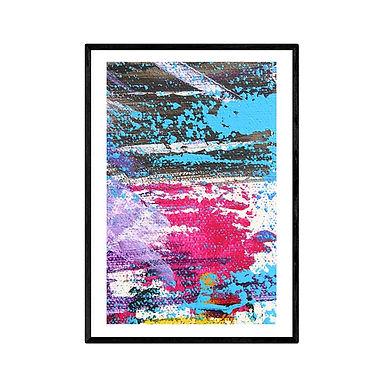Splatter Modern Abstract Art Print