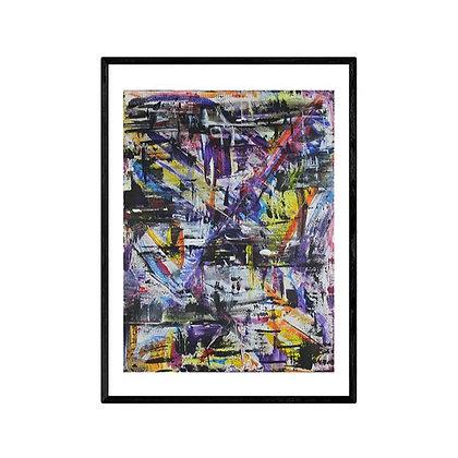 Pop meets art Abstract Print