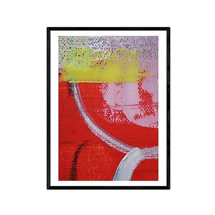 Kimono Abstract Print