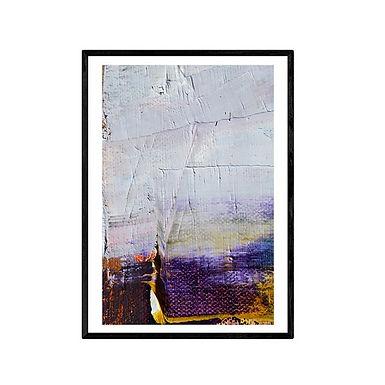 Purple Haze Abstract Print
