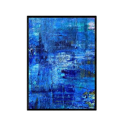 Stormy Sea Wall Art Print