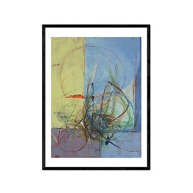 Disorder Abstract Print