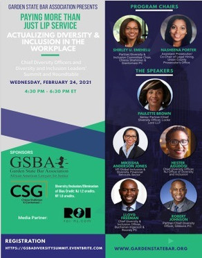 Actualizing Diversity & Inclusion in the Workplace