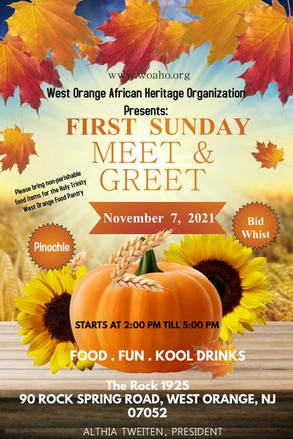 WOAHO FIRST SUNDAY MEET & GREET AT THE ROCK