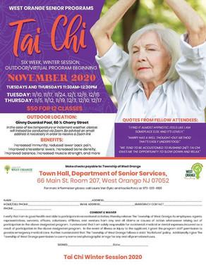 West Orange Seniors - Learn Tai Chi