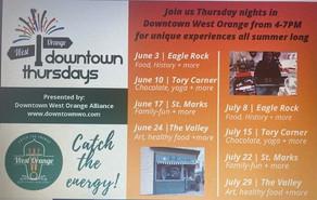 West Orange downtown Thursdays