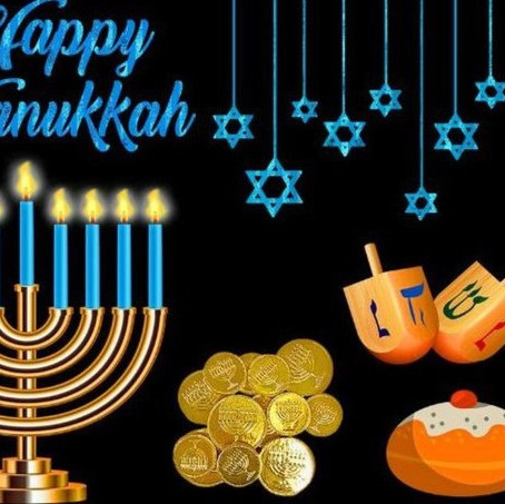 From the West Orange African Heritage Organization, we wish you a very Happy Hanukkah