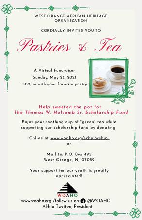 Pastries & Tea Fundraiser