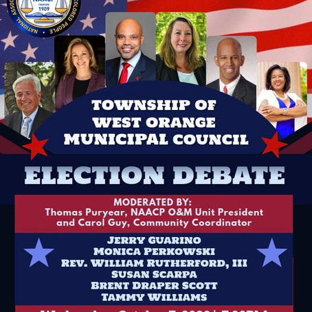 WEST ORANGE TOWNSHIP DEBATE