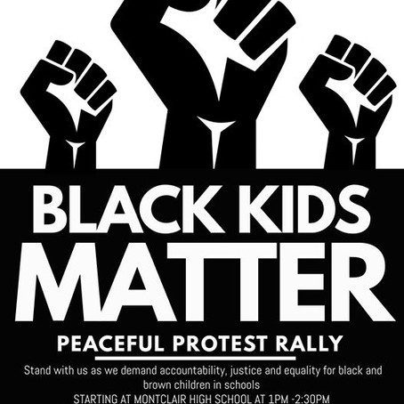 100 MOMS AND STUDENTS OF COLOR PEACEFUL                PROTEST RALLY