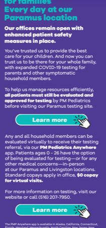 COVID-19 Testing for Children