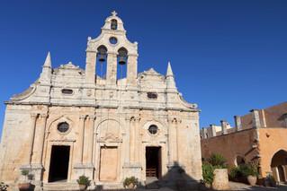 Les meilleurs endroits en Créte: Le monastère d'Arkadi