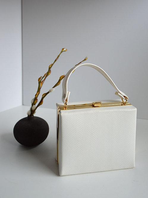 Handväska- vit