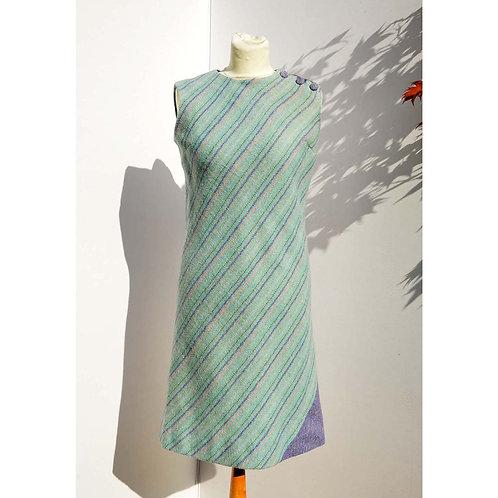 Ljusblå 60tals klänning
