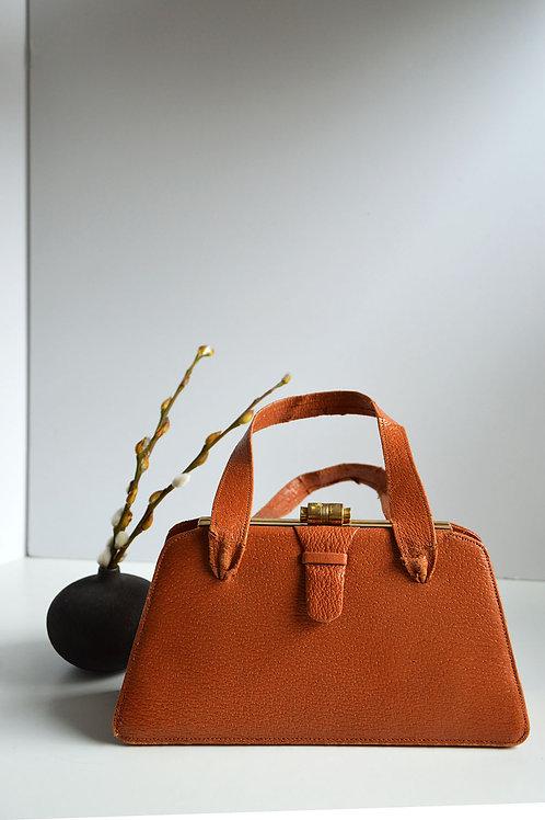 Handväska- brun