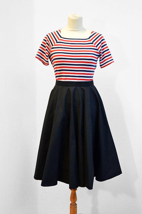 Full Circle Skirt- black