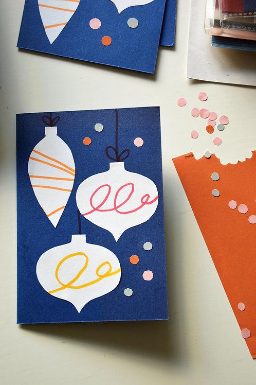 Christmas Card- folded A6
