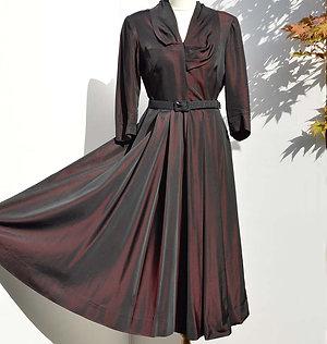 Svart 40tals klänning