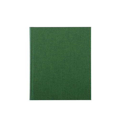 Notebook- Forest Green
