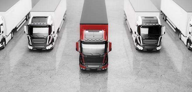 Solar fleet trucks