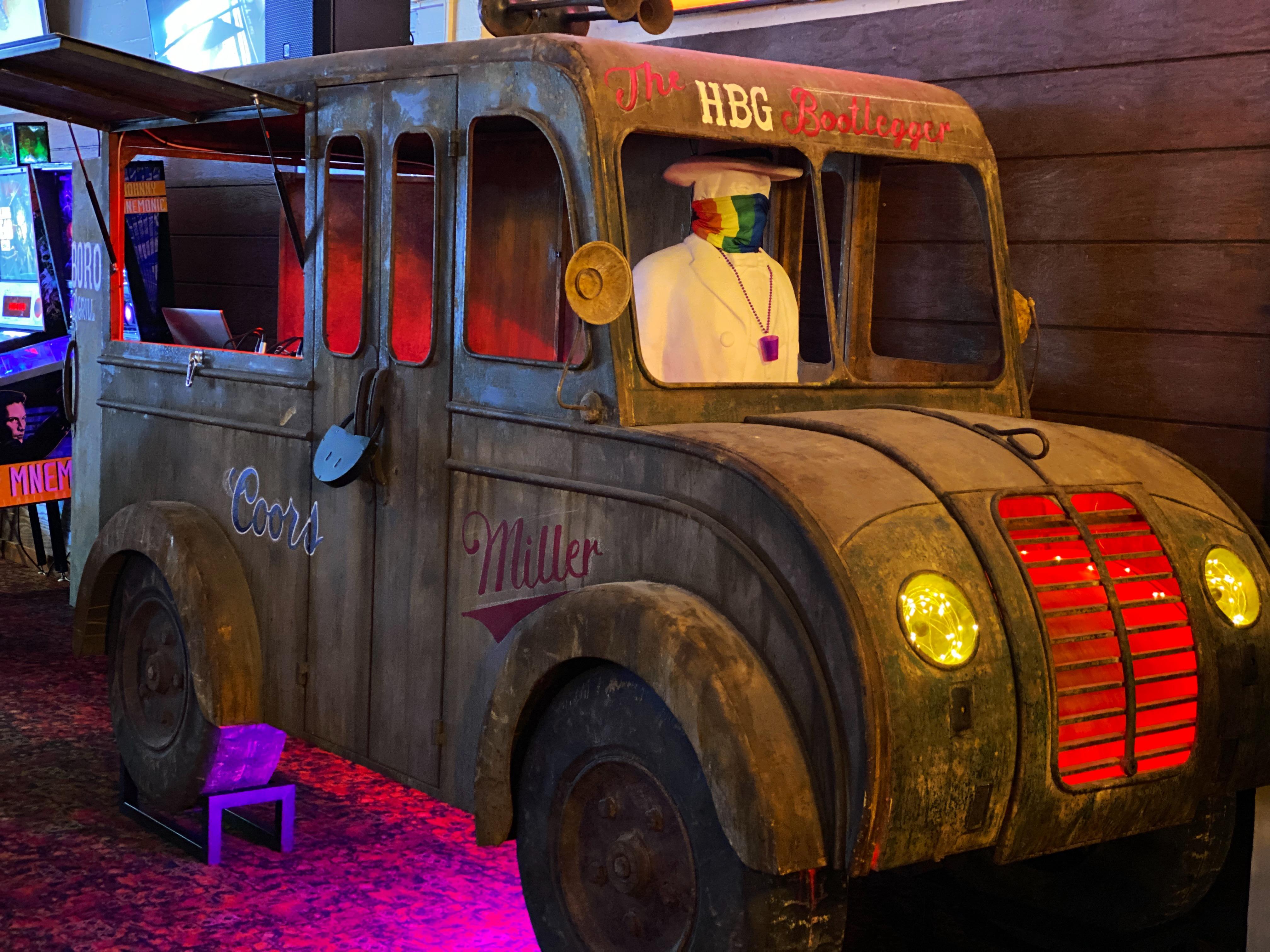 Milk Truck Karaoke Booth