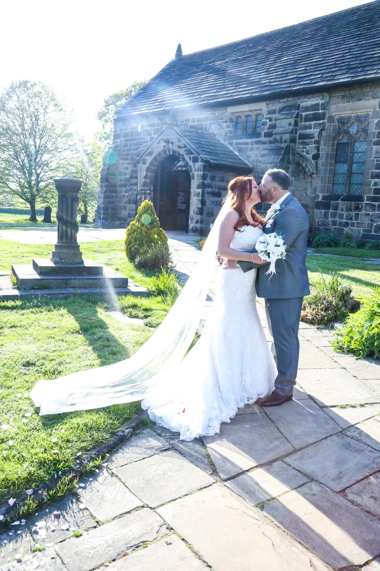 Helen & John at Formby Hall