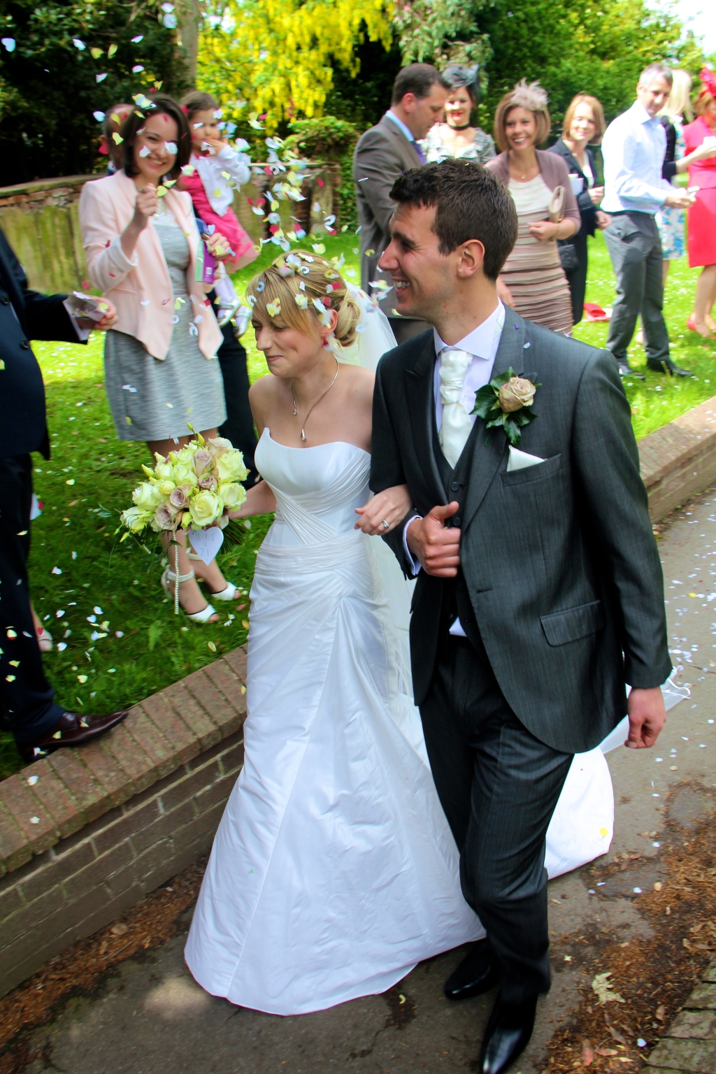 Sarah & Andrew at Hemswell Court